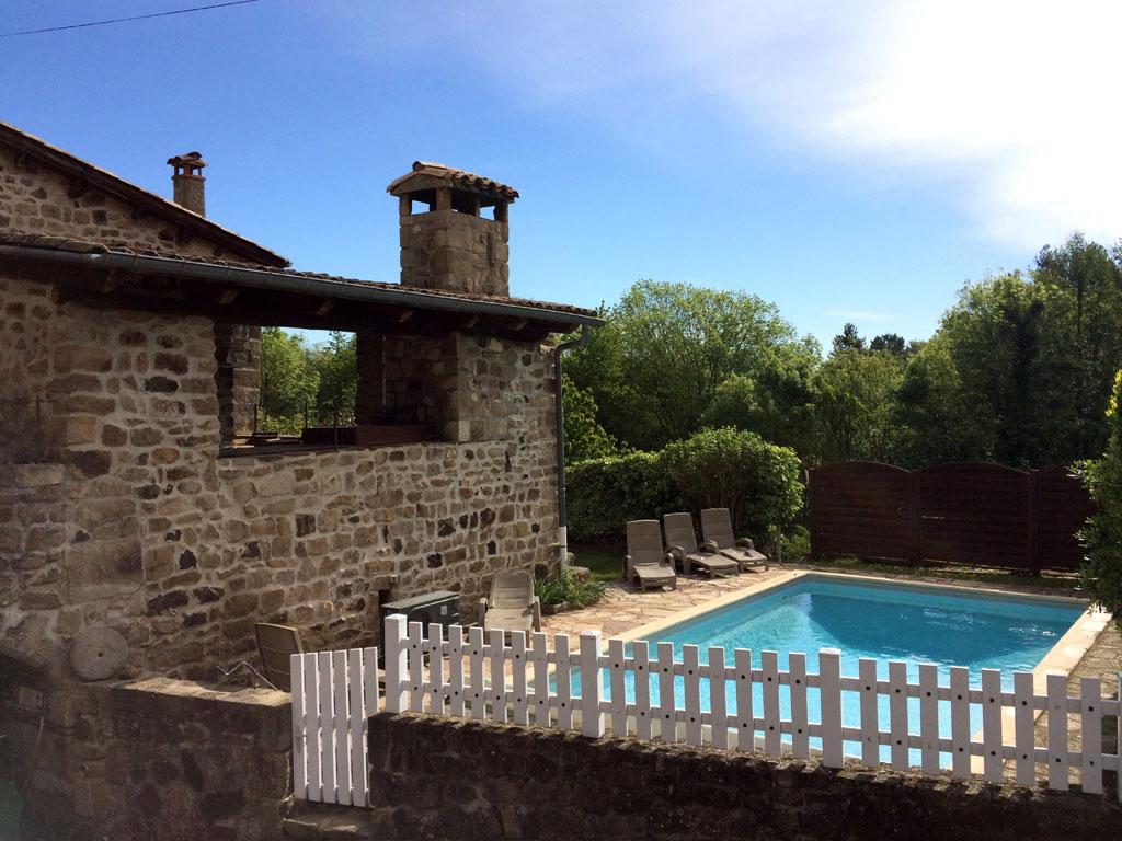 Maison De Laulagnet - Gite Avec Piscine Chauffée Ardèche à Vacances En Ardèche Avec Piscine