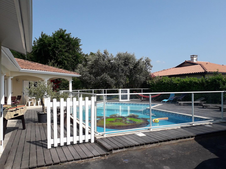 Maison De Vacances À Biscarrosse, En Aquitaine Pour 16 Pers ... tout Location Maison Vacances Avec Piscine Privée Pas Cher Particulier