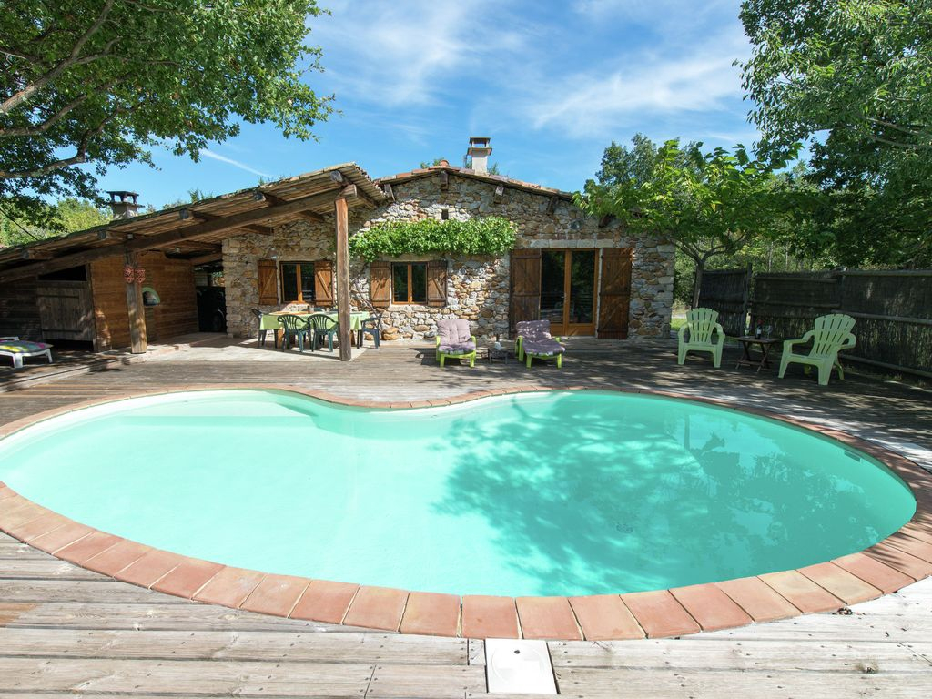 Maison De Vacances Ancienne Avec Piscine En Ardèche - Saint-Alban-Auriolles intérieur Vacances En Ardèche Avec Piscine