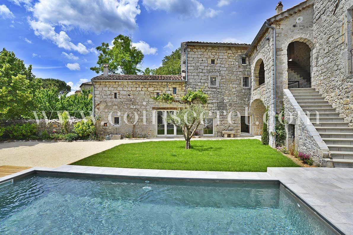 Maison De Vacances Avec Piscine En Ardèche. Ce Beau Mas Est ... dedans Vacances En Ardèche Avec Piscine