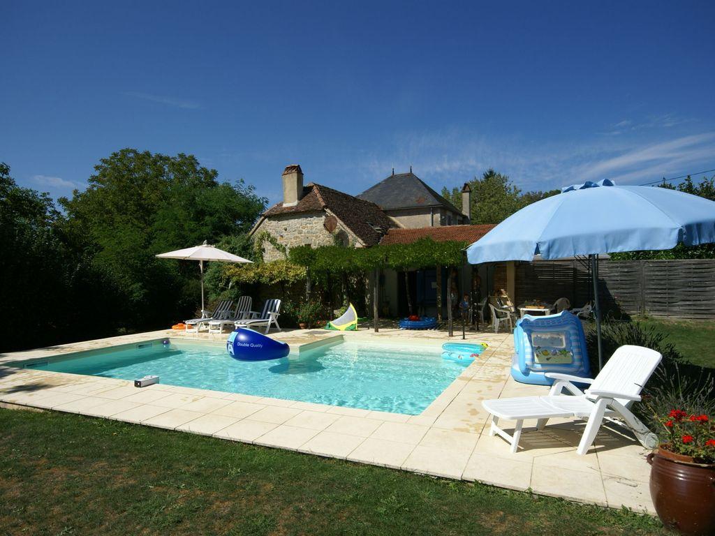 Maison De Vacances Cosy Avec Piscine Privée À Alvignac - Alvignac tout Location Maison Avec Piscine France
