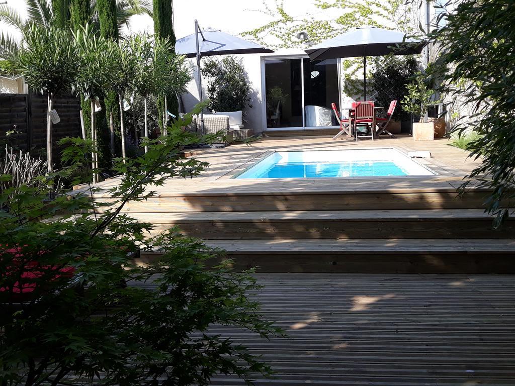 Maison De Ville Style Échoppe (Fransa Le Bouscat) - Booking encequiconcerne Piscine Du Bouscat