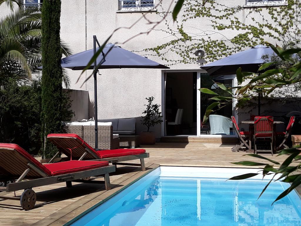 Maison De Ville Style Échoppe (Fransa Le Bouscat) - Booking intérieur Piscine Du Bouscat