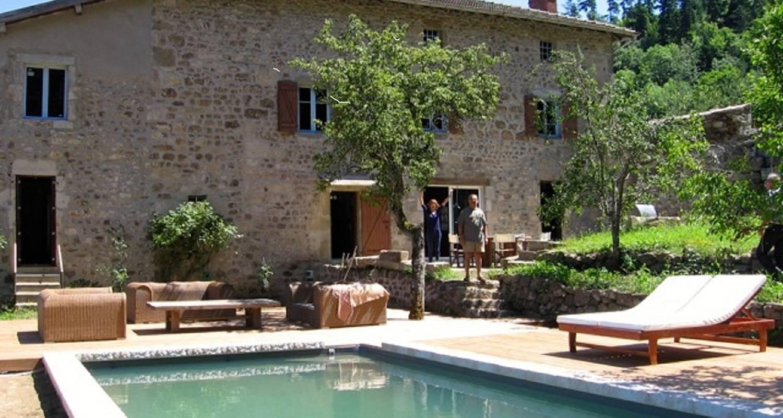 Maison En Pierre Du Xviiè In Bourg-Argental - 29063 avec Cash Piscine Bourg De Peage