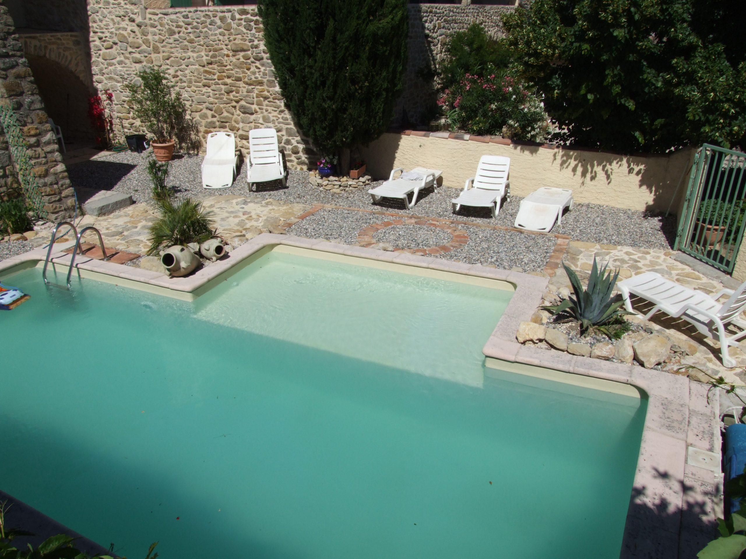 Maison Et Table D'hôtes De Charme En Ardèche Du Sud ... pour Hotel Ardeche Avec Piscine