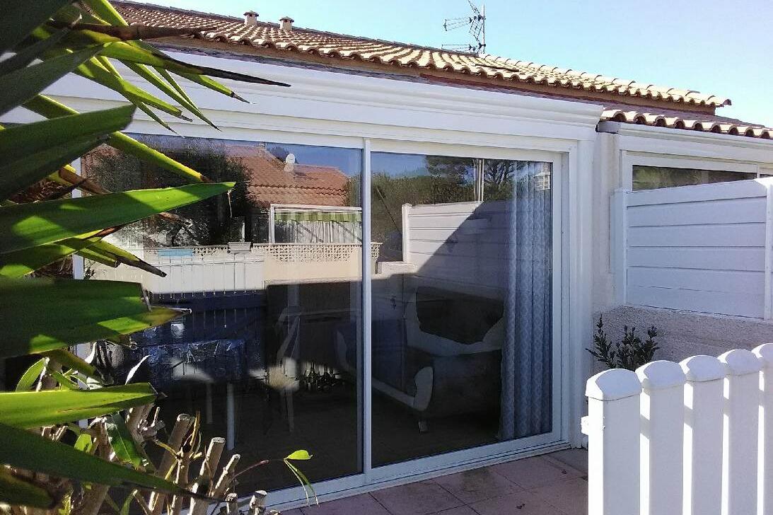 Maison Rez De Jardin,avec Véranda,piscine ,proche De La Mer ... dedans Piscine Gruissan