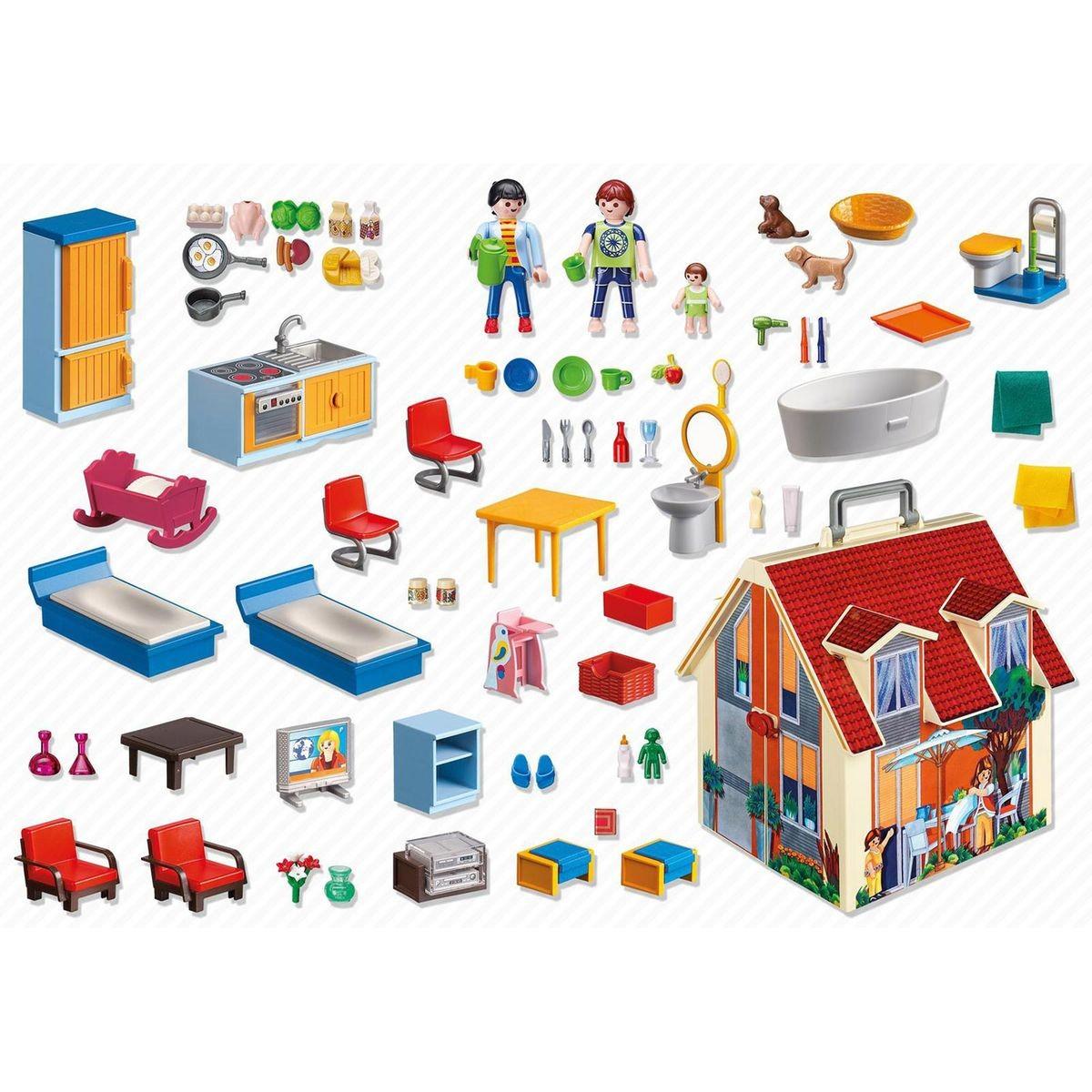Maison Transportable - Taille : Taille Unique | Maison ... tout Piscine Playmobil 5575