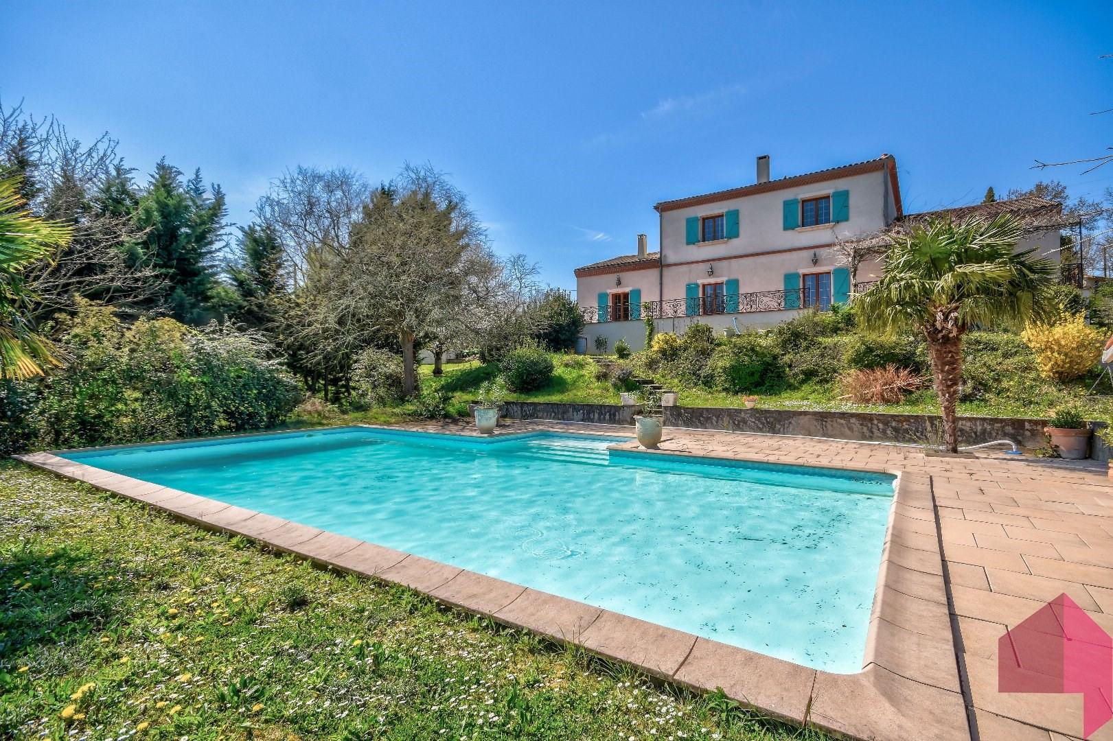Maison / Villa À Vendre À Villefranche-De-Lauragais   520 ... serapportantà Piscine Villefranche De Lauragais