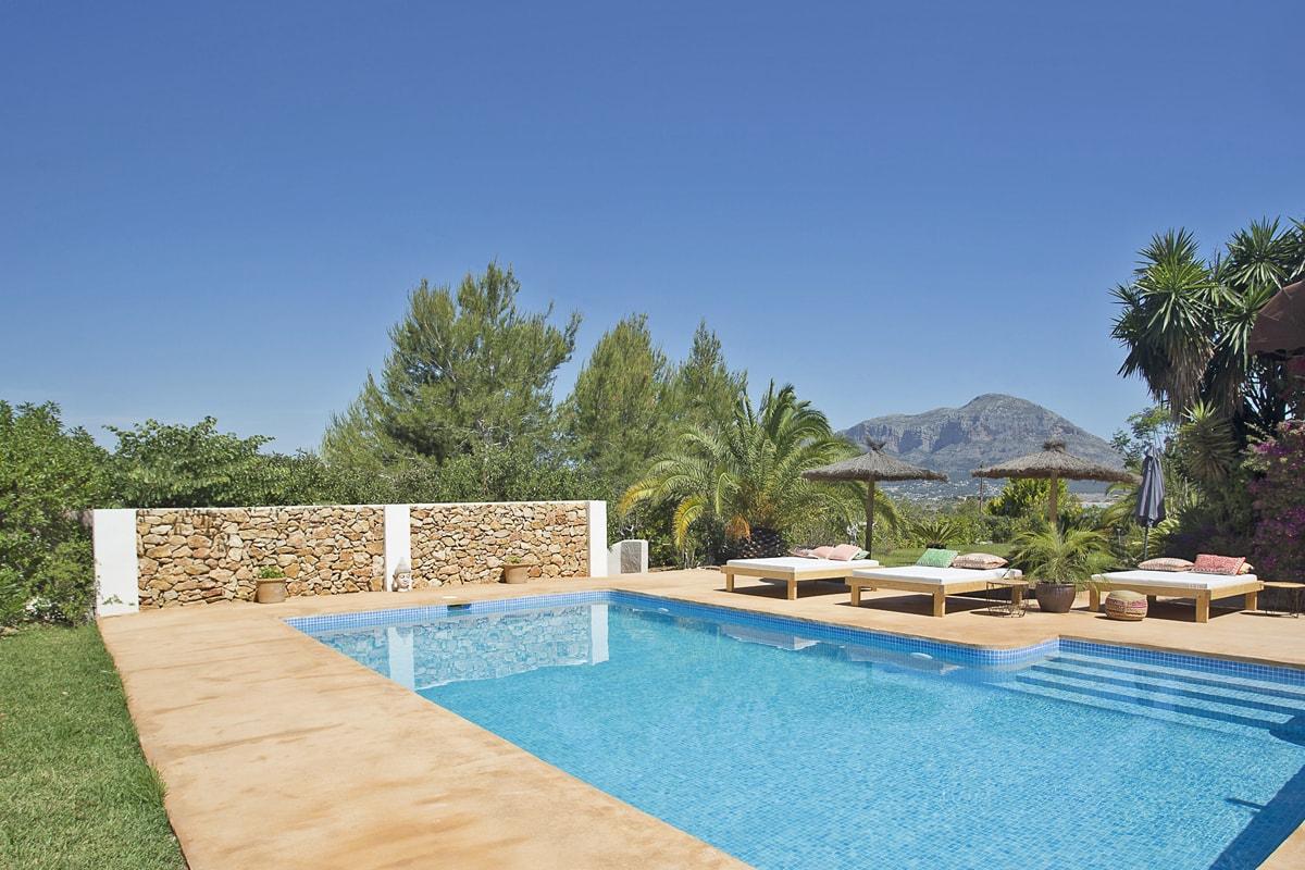 Maisons De Vacances Avec Piscine Privée Et Service À Costa ... concernant Location Villa Espagne Avec Piscine Privée