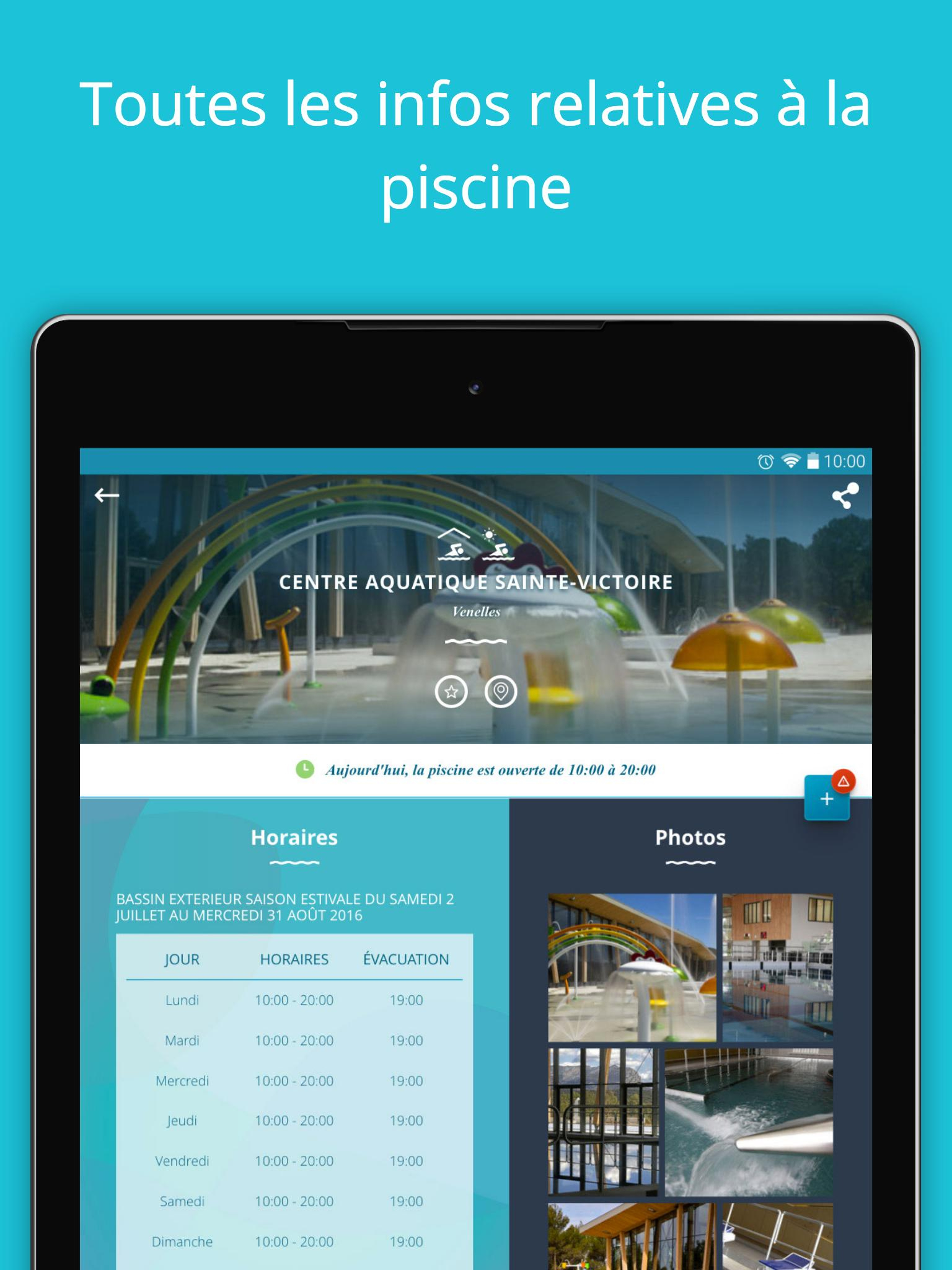 Mamp Piscines For Android - Apk Download concernant Piscine Venelles Horaires