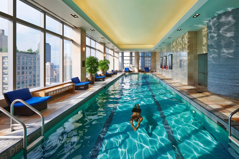Mandarin Oriental, New York | Nycgo tout Piscine Square Du Luxembourg