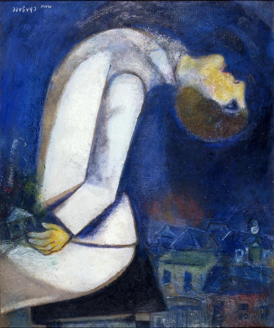 Marc Chagall L'homme À La Tête Renversée - Roubaix La Piscine serapportantà Musique Piscine