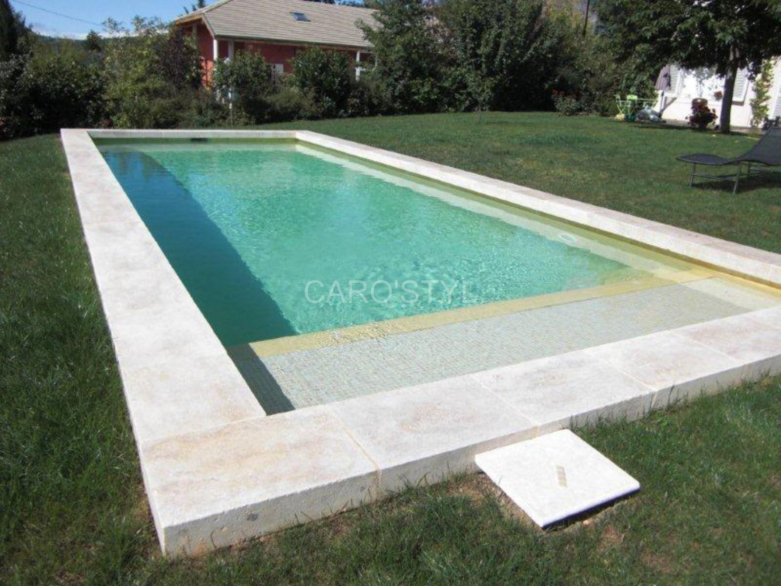Margelle De Piscine Conception - Idees Conception Jardin avec Margelle Piscine Prix