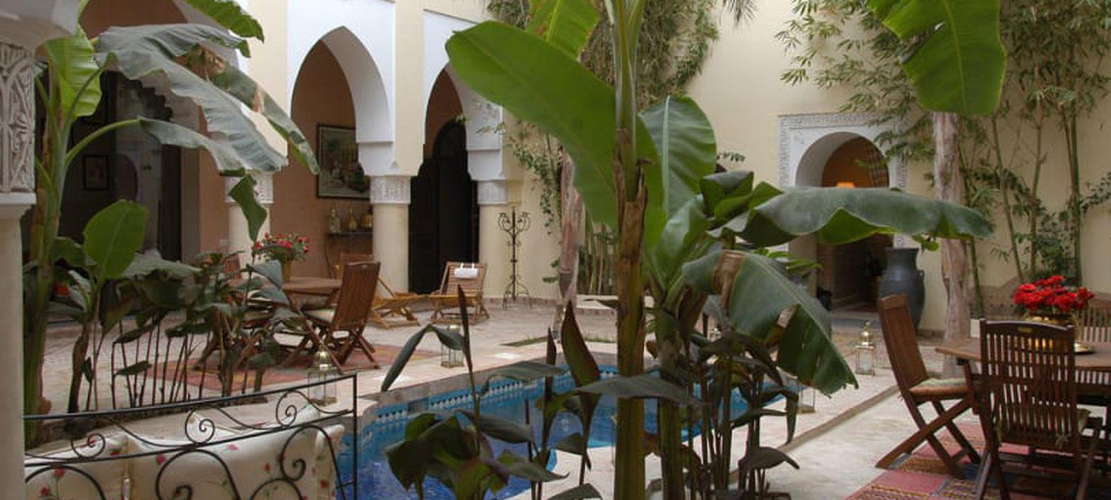 Marrakech : 5 Jours À Partir De 180€ En Riad 4* Avec Piscine ... serapportantà Riad Marrakech Avec Piscine