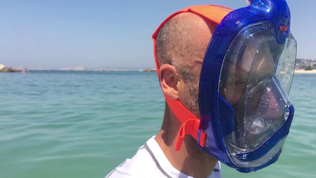 Masque Facial De Snorkeling Seac Magica Enfant/adulte - Cabesto pour Piscine Cabesto