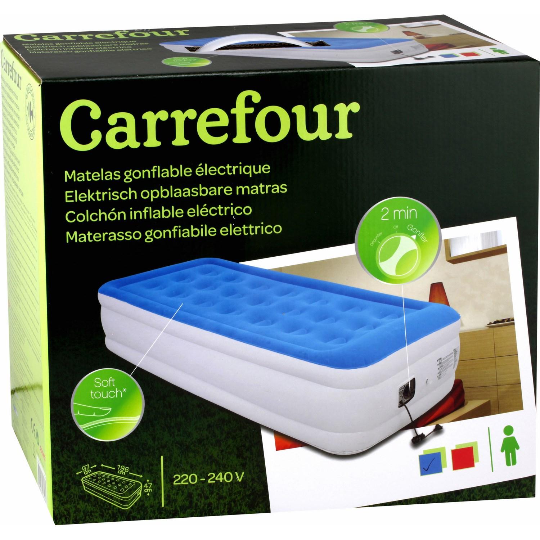 Matelas Gonflable Électrique/1 Personne Carrefour Carrefour ... intérieur Piscine Intex Carrefour