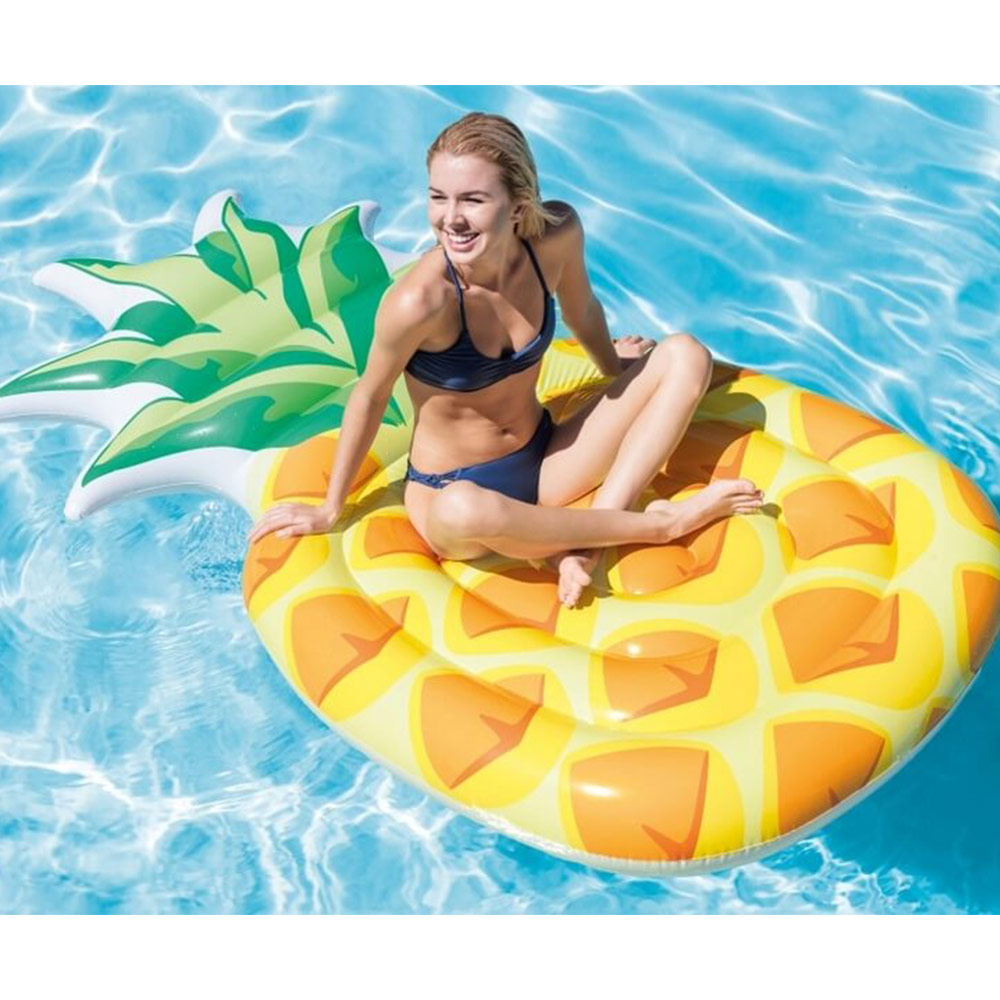 Matelas Gonflable Intex Ananas Pineapple encequiconcerne Matelas Piscine Intex