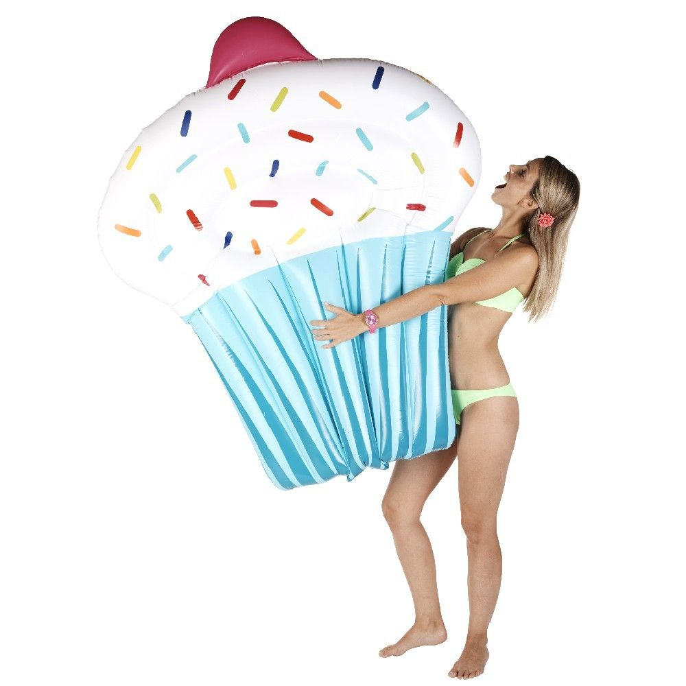 Matelas Gonflable Piscine Cupcake | Matelas Gonflable ... intérieur Piscine Gonflable Gifi