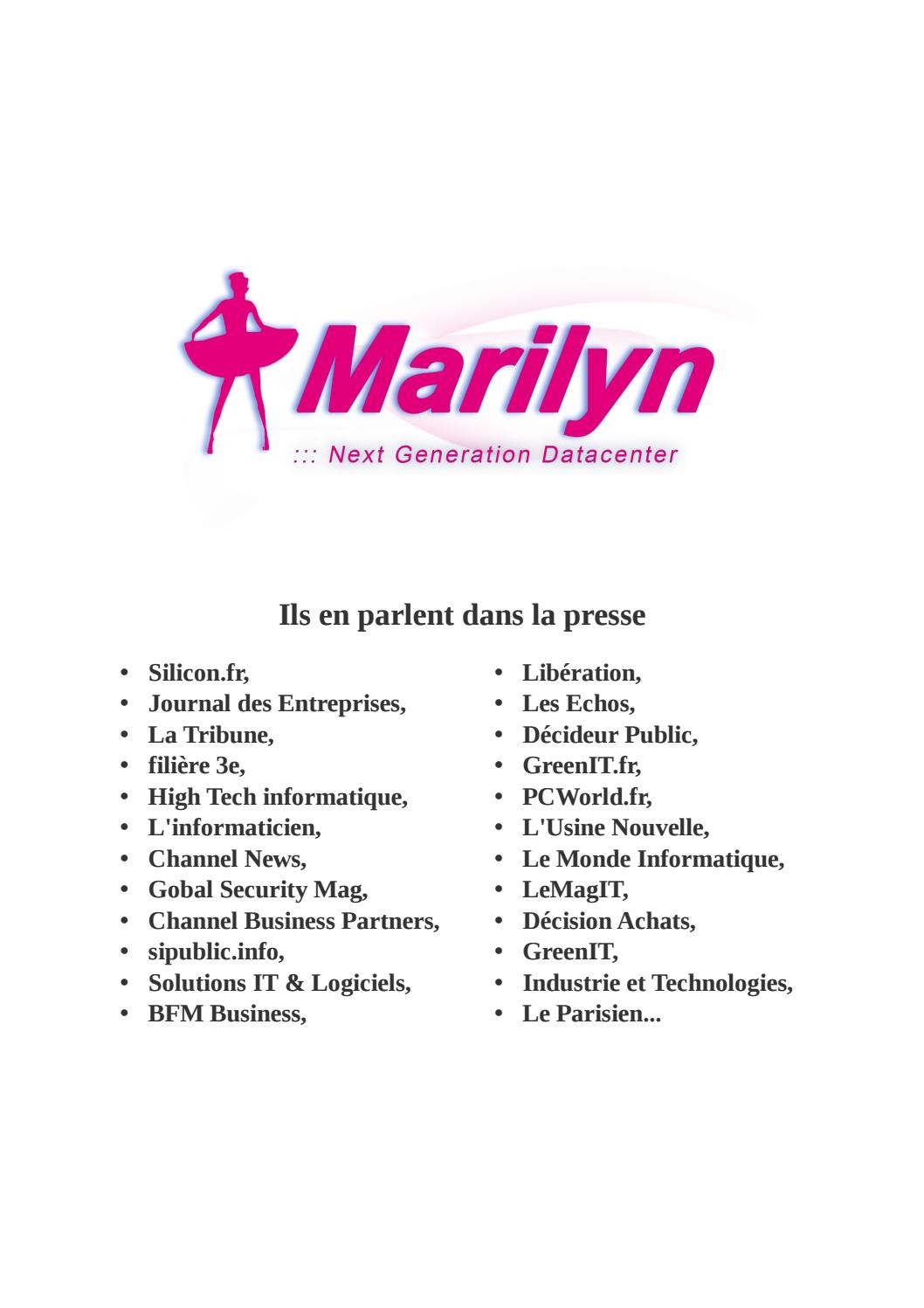 Mediakit Marilyn 22/06/2016 By Ce - Issuu tout Sdsl Piscine