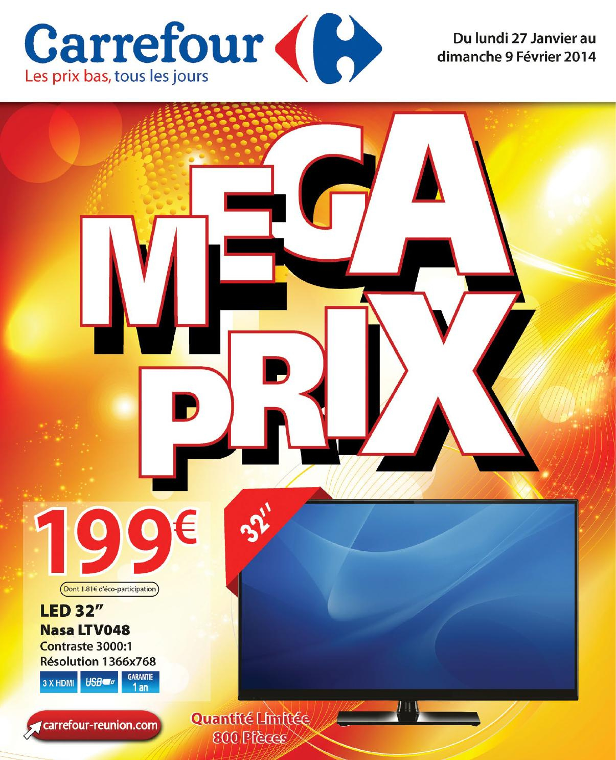 Megaprix Carrefour Réunion By Carrefour - Issuu concernant Carrefour Piscine Hors Sol