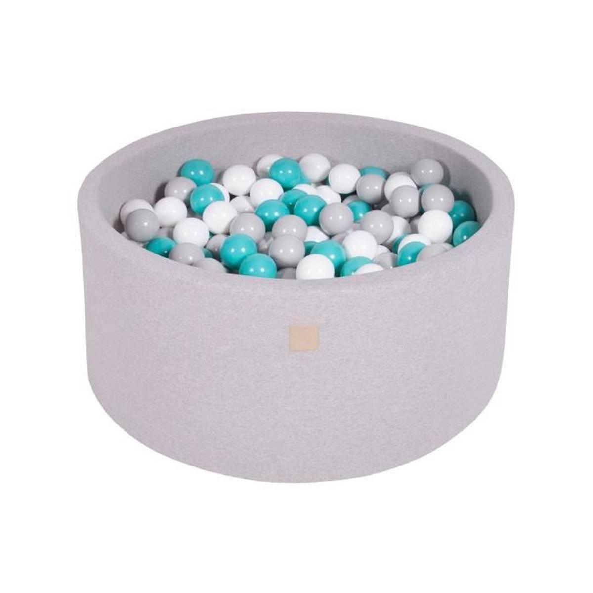 Meowbaby 90X40Cm/300 Balles ∅ 7Cm Piscine À Balles Pour ... concernant Piscine À Balles Bébé