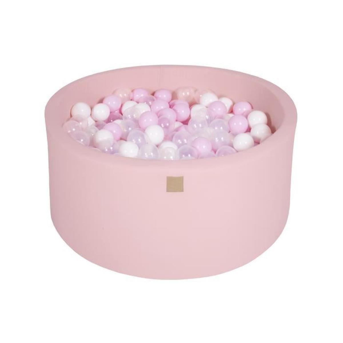 Meowbaby 90X40Cm/300 Balles ∅ 7Cm Piscine À Balles Pour ... destiné Piscine À Balles Bébé