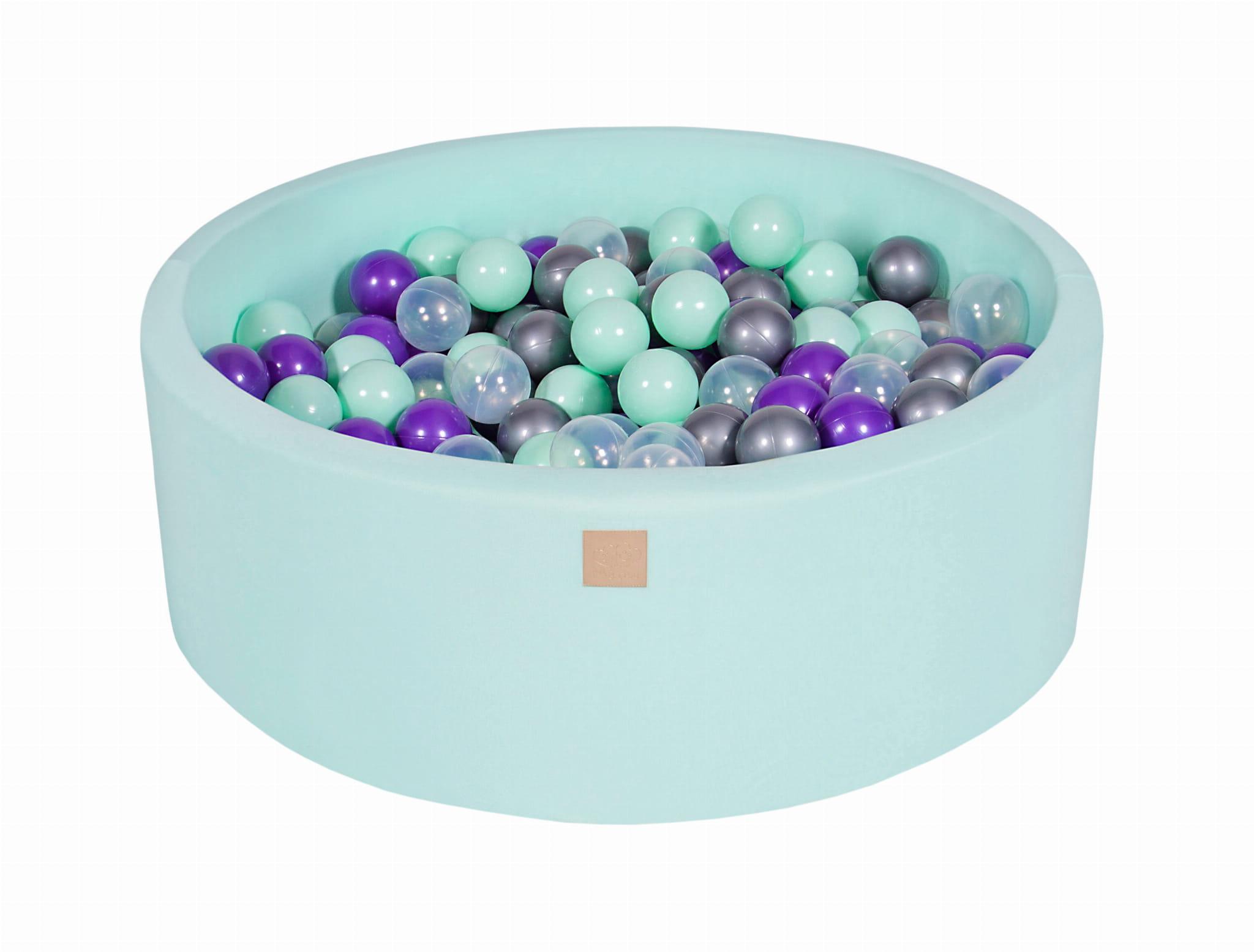 Meowbaby® Piscine À Balles Pour Bébé 200 Balles, Menthe intérieur Piscine À Balles Bébé