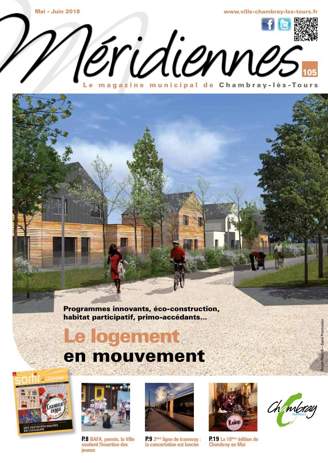 Méridiennnes 105 - Mai/juin 2018 By Ville Chambray-Lès-Tours ... intérieur Piscine Chambray Les Tours