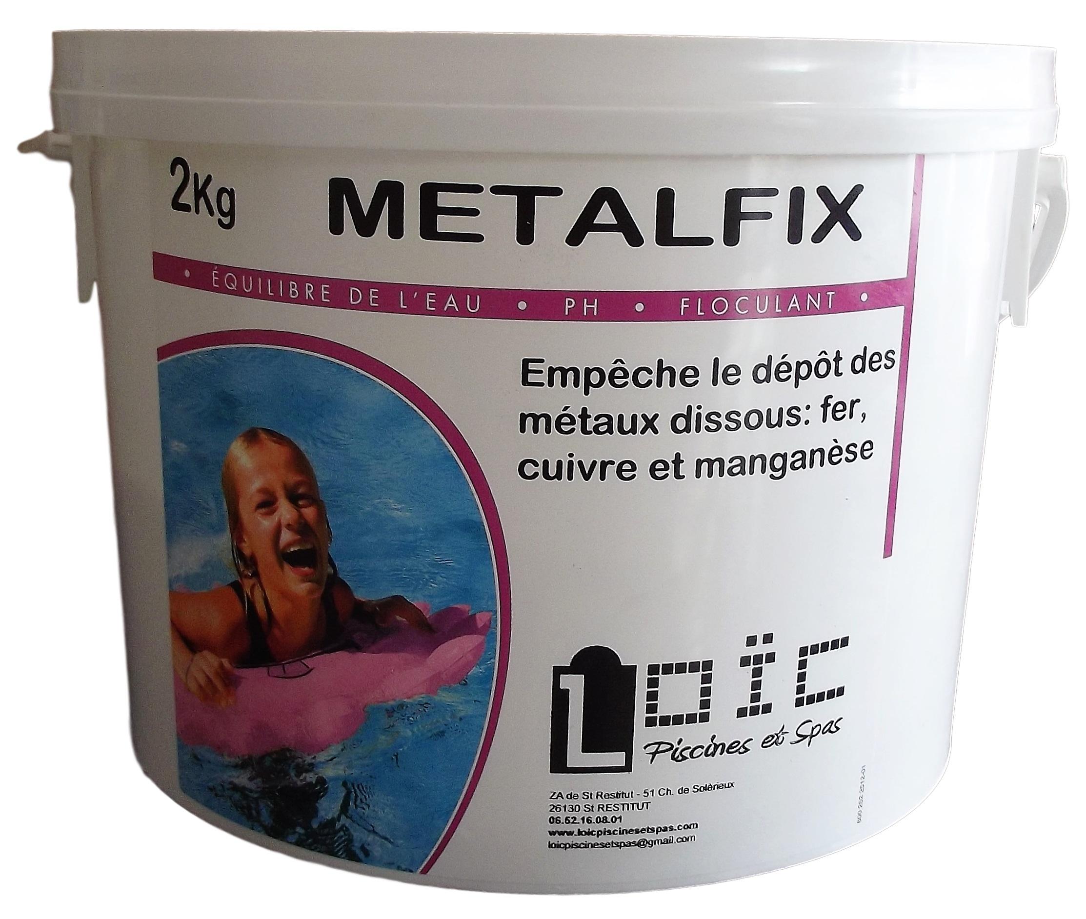 Metalfix - Loic Piscines Et Spas destiné Séquestrant Métaux Piscine