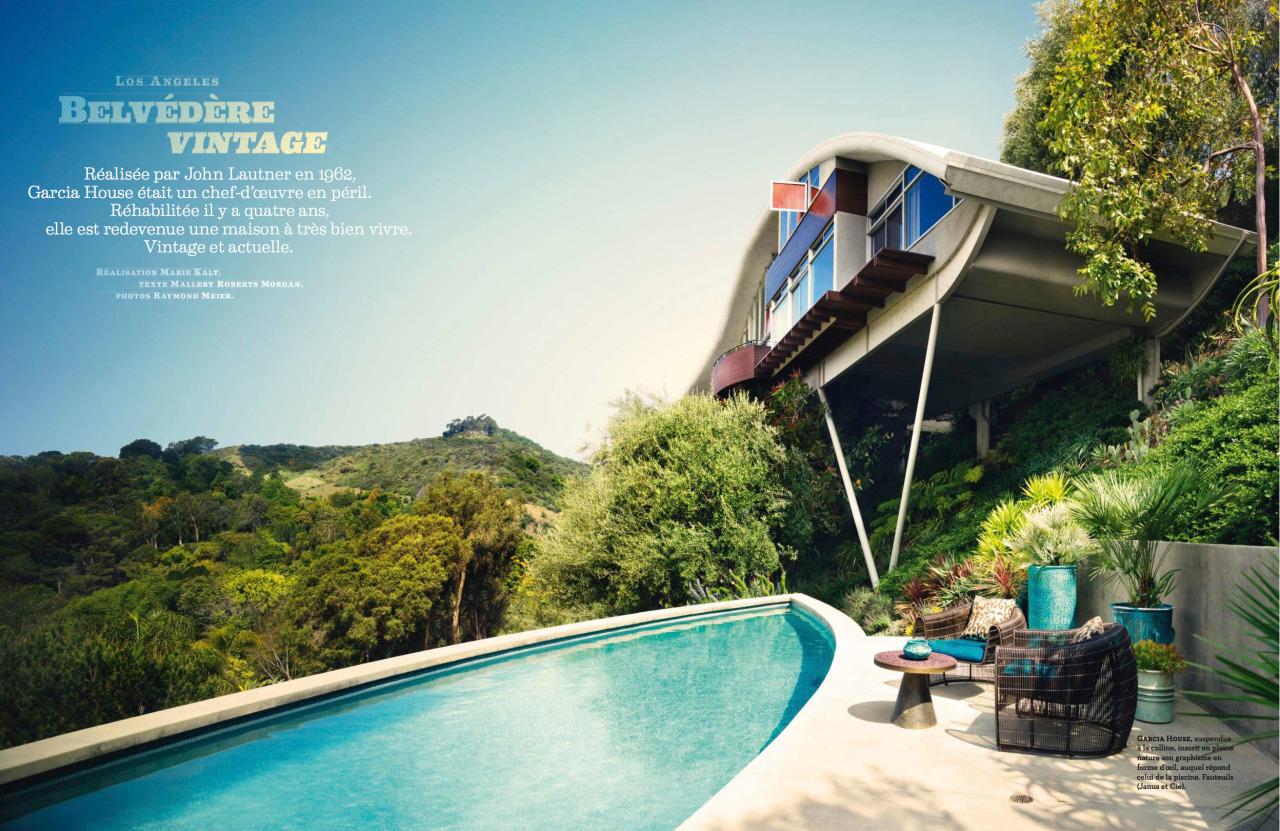 Mid-Century Modern Freak — 1962 The Garcia House | Architect ... destiné Piscine Suspendue