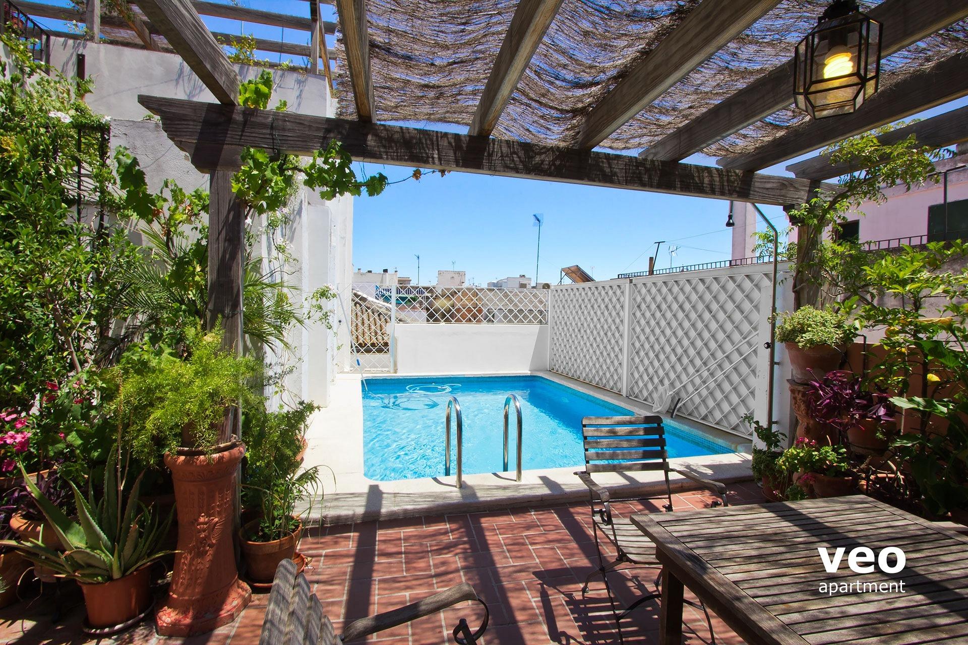 Miguel Terrace tout Hotel Seville Piscine