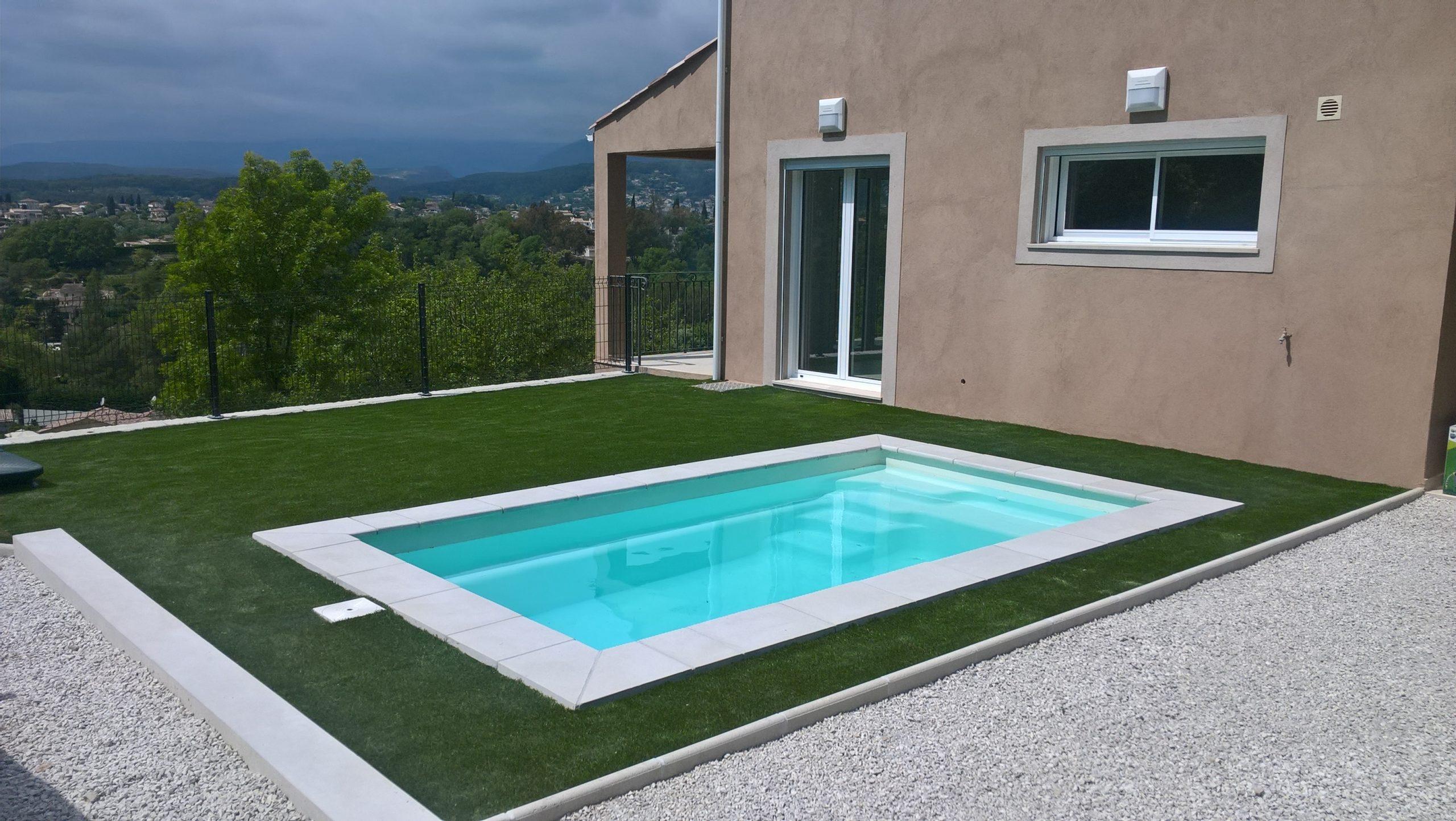 Mini Baby Pool - 4.20M X 2.30M - dedans Coque Mini Piscine
