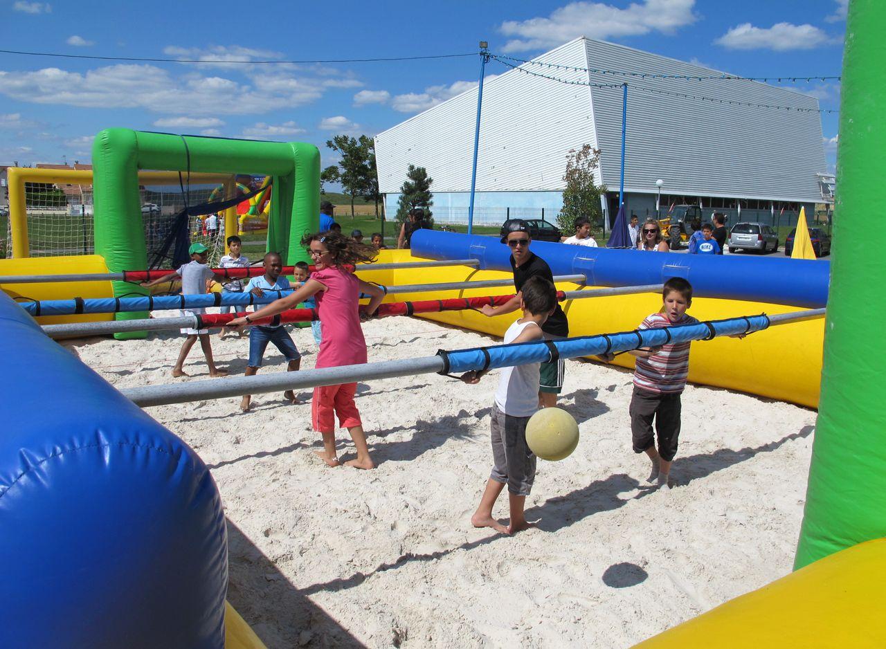 Moissy : Piscine, Beach-Volley Et Ciné En Plein Air - Le ... avec Piscine De Moissy Cramayel