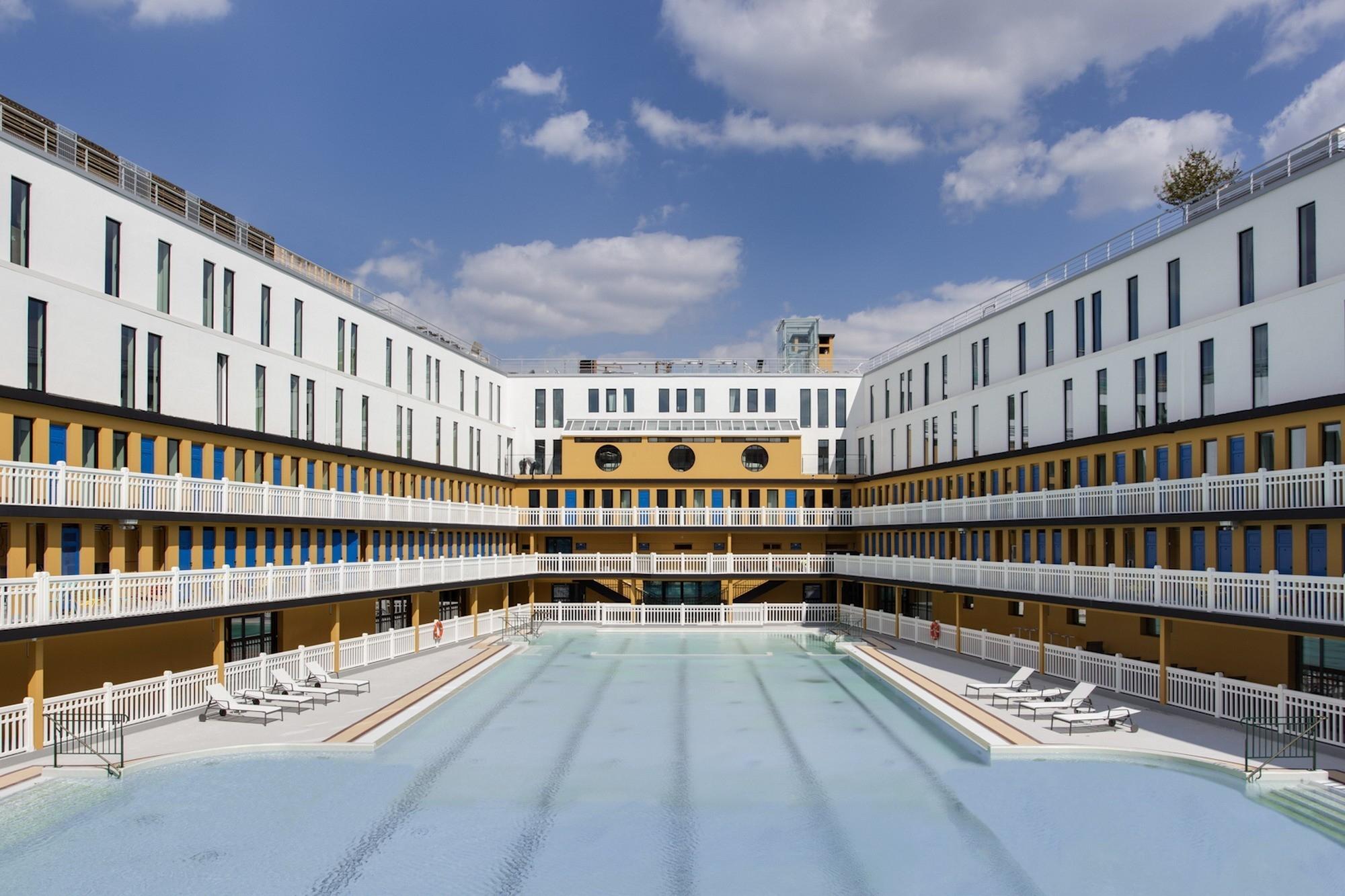 Molitor Hotel | Studio Jean-Philippe Nuel avec Restaurant Piscine Molitor