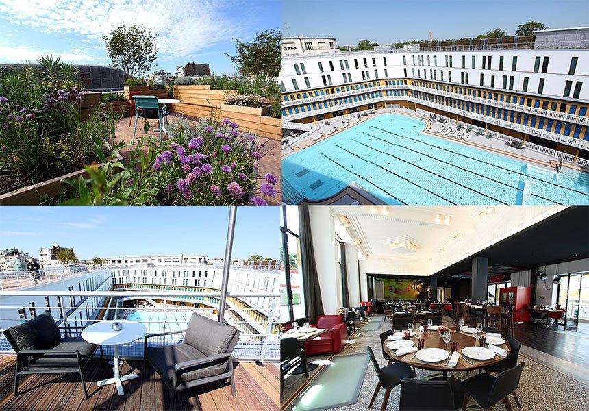 Molitor: Pool, Hotel, Restaurant, Rooftop And Spa ... intérieur Piscine Molitor Restaurant