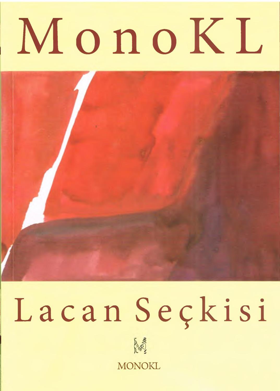Monokl - Sayı 6-7 - 2009 Yaz (Lacan Seçkisi Sayısı) Kısım 1 ... avec Piscine Plus Le Cres