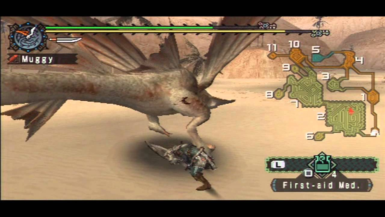 Monster Hunter Freedom [14] - Liver Of Legend concernant Freedom Piscine