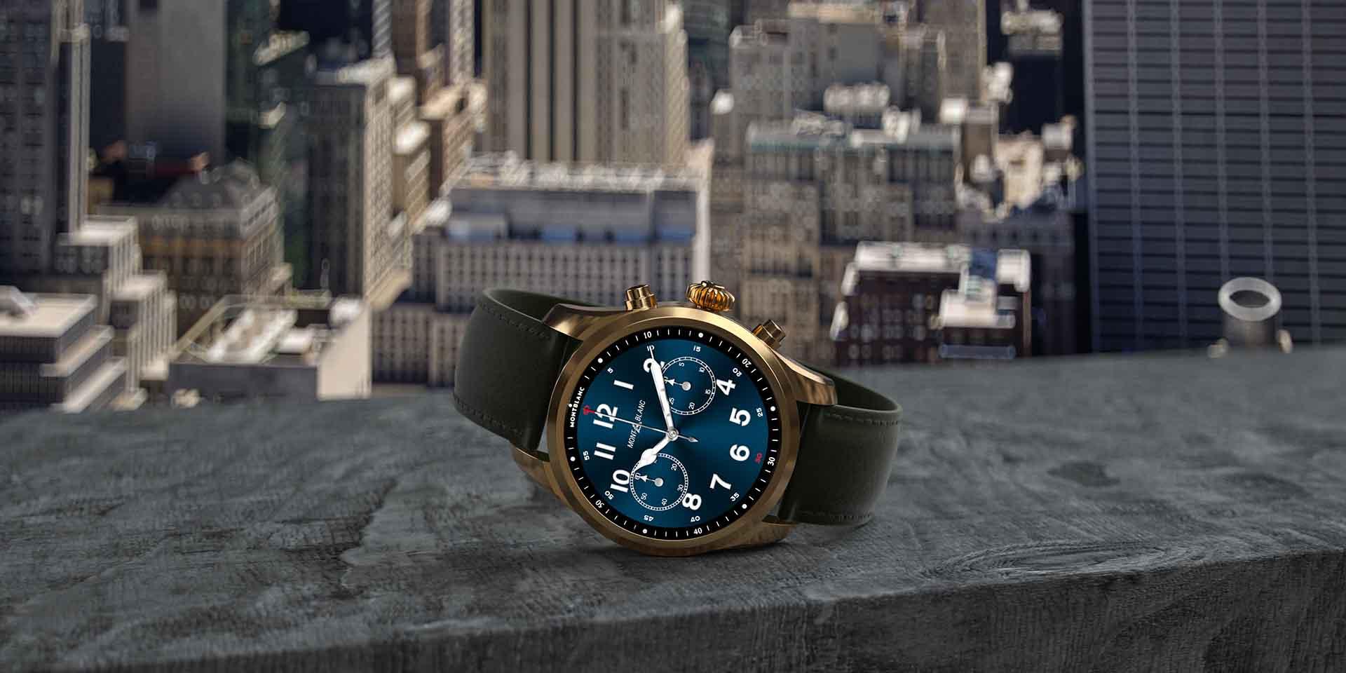 Montblanc Summit 2 Plus : La Première Smartwatch Wear Os ... destiné Bracelet Connecté Piscine