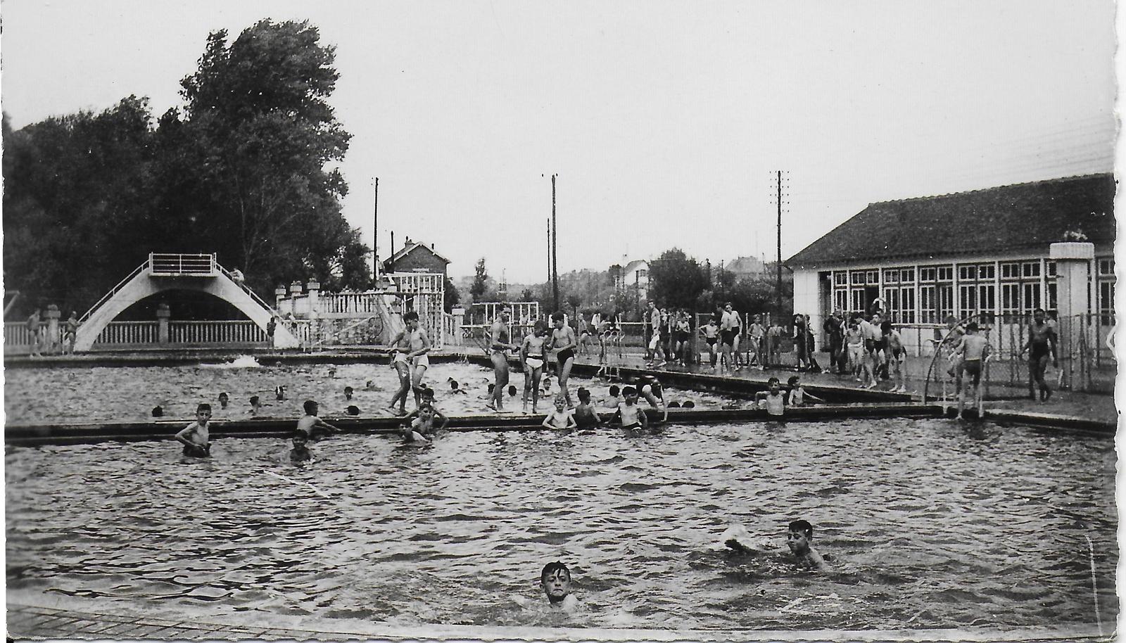 """Montdidier - 1953 Etablissement De Vacances"""" Les Trois Doms ... avec Piscine Montdidier"""