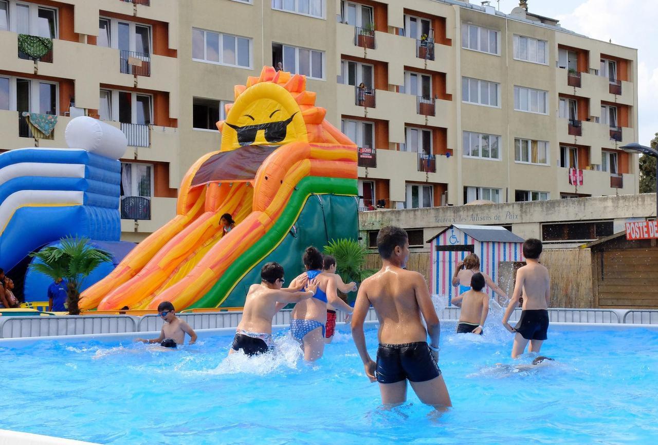 Montereau : Bain De Fraîcheur Pour Les Jeunes À La Plage D ... tout Piscine Montereau