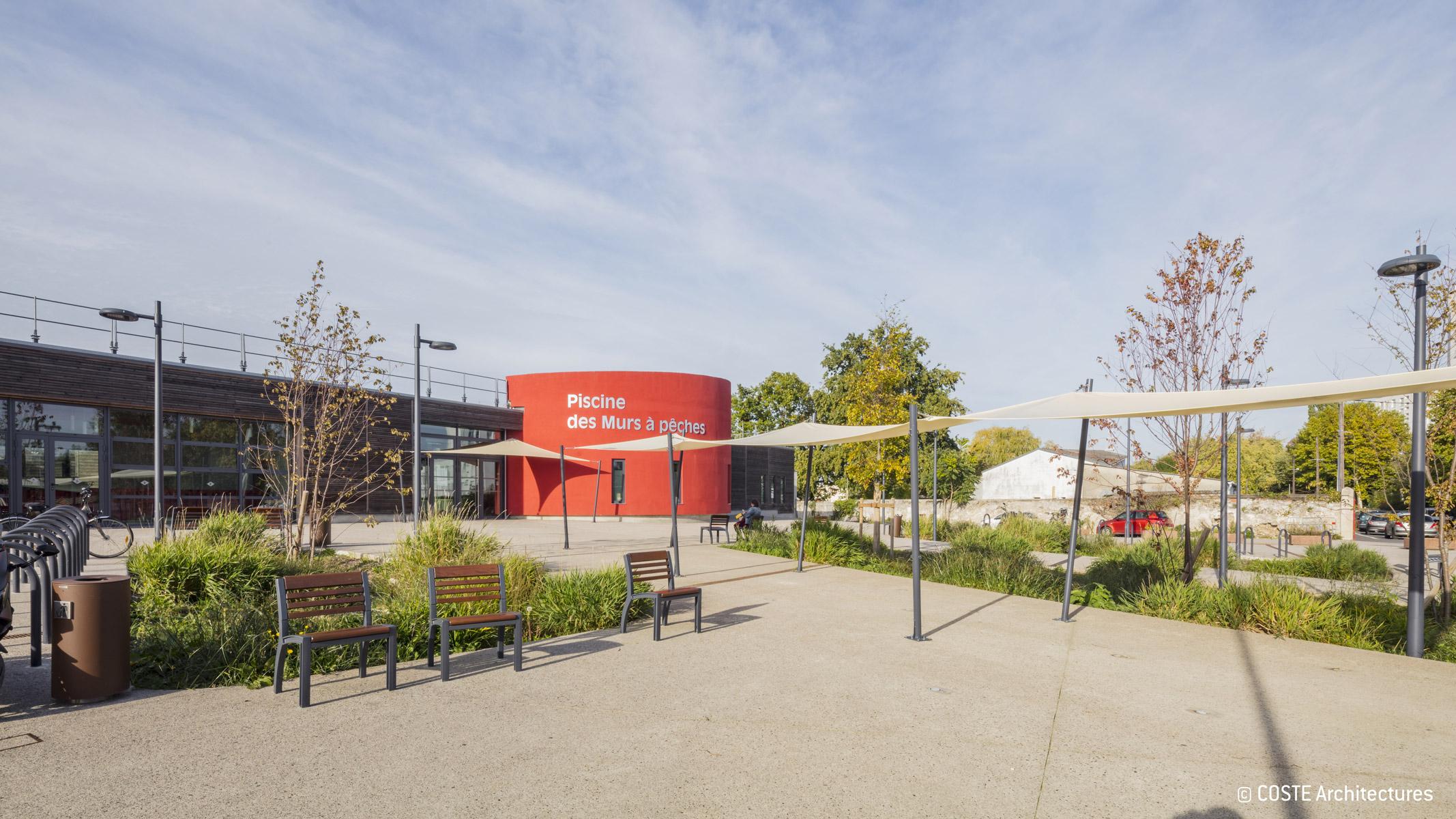 Montreuil / Piscine Écologique | Agence Ter concernant Piscine Des Murs À Pêche Montreuil