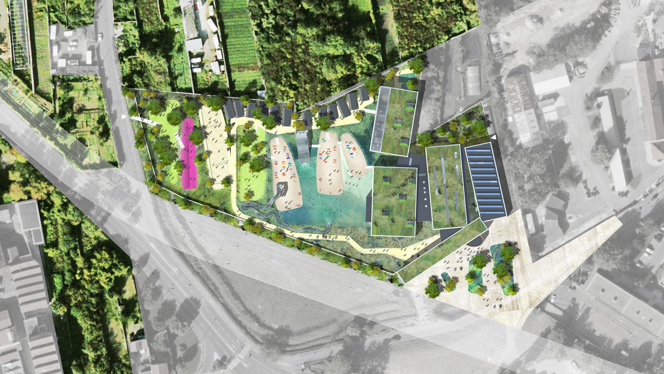 Montreuil / Piscine Écologique | Agence Ter encequiconcerne Piscine Des Murs À Pêche Montreuil