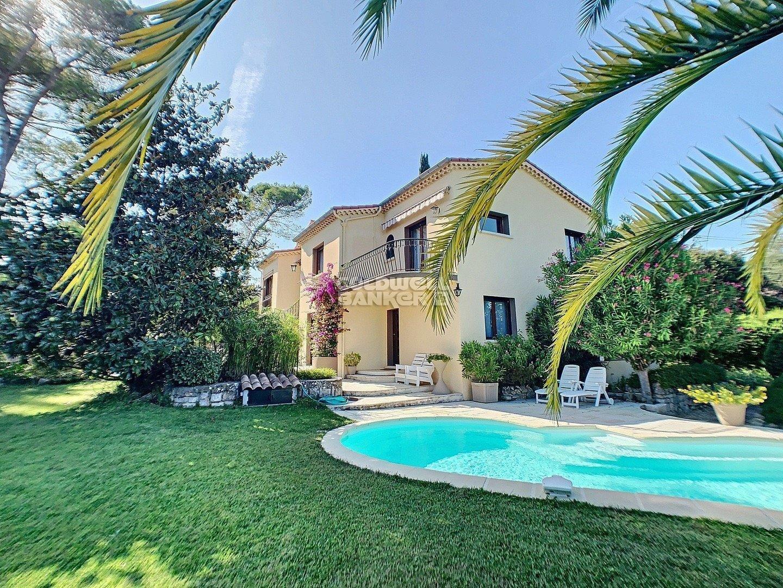 Mougins - Villa 5 Chambres - Piscine Chauffée - Double Garage Réf. Nf1448 B destiné Piscine Avranches