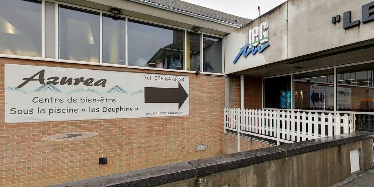 Mouscron: Le Centre Azurea Fermé Par Précaution - Dh Les Sports+ intérieur Piscine Les Dauphins Mouscron