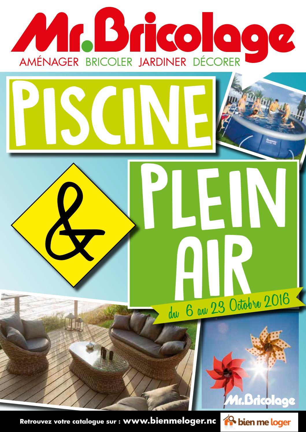 Mr Bricolage Catalogue Plein Air By Skazy - Issuu serapportantà Mr Bricolage Piscine