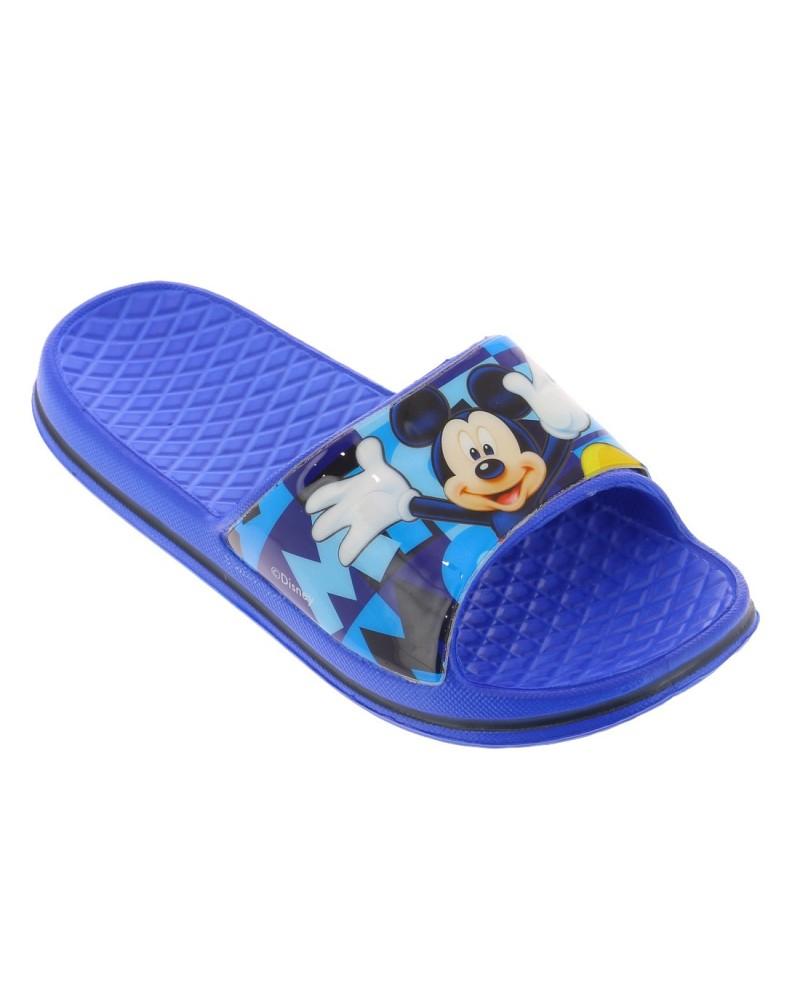 Mulles De Piscine Mickey Couleurs Bleu Taille 24 avec Sandales De Piscine