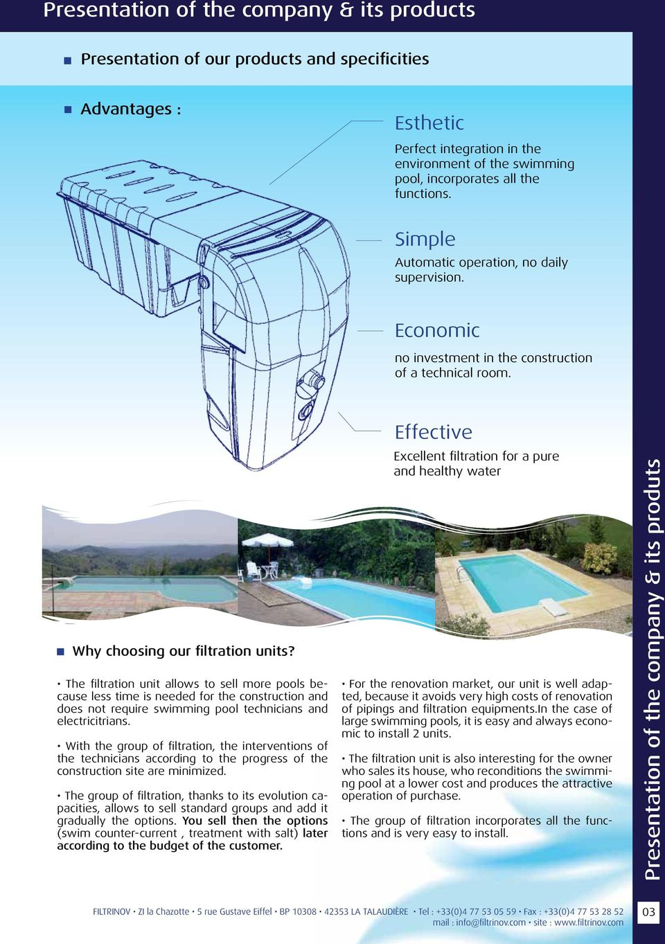Multifonction Filtration Unit! - Pdf Free Download dedans Piscine La Talaudiere
