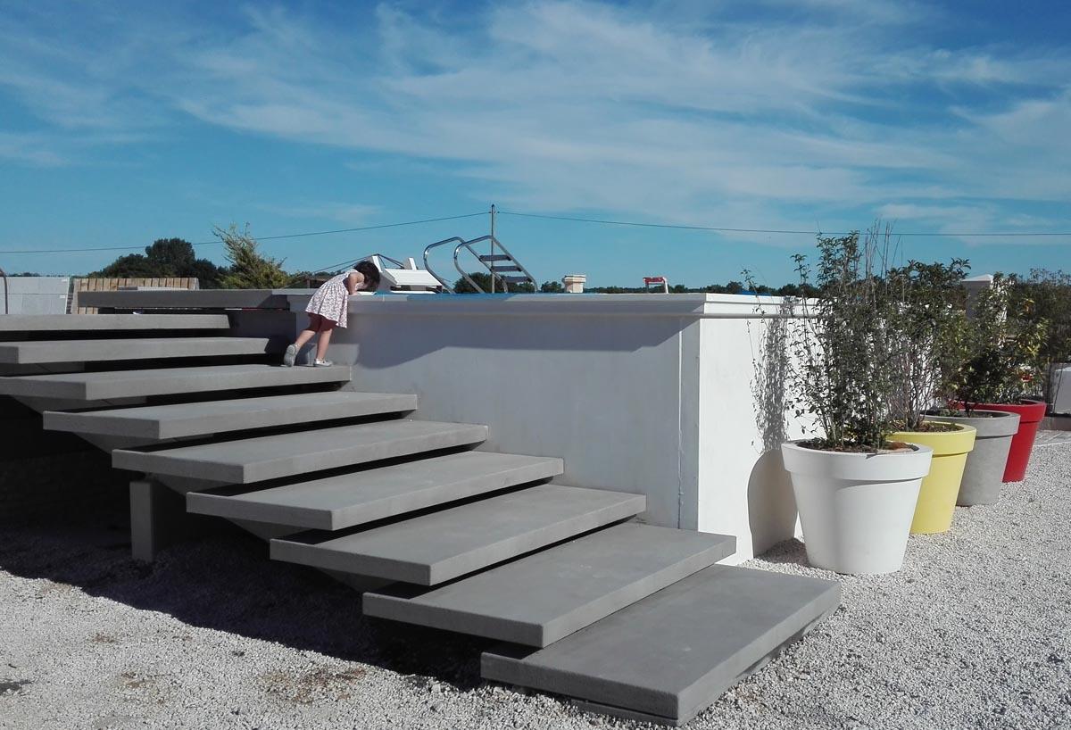 Murs Préfabriqués Pour Construction De Piscine Hors Sol En Béton intérieur Enduit Piscine Béton