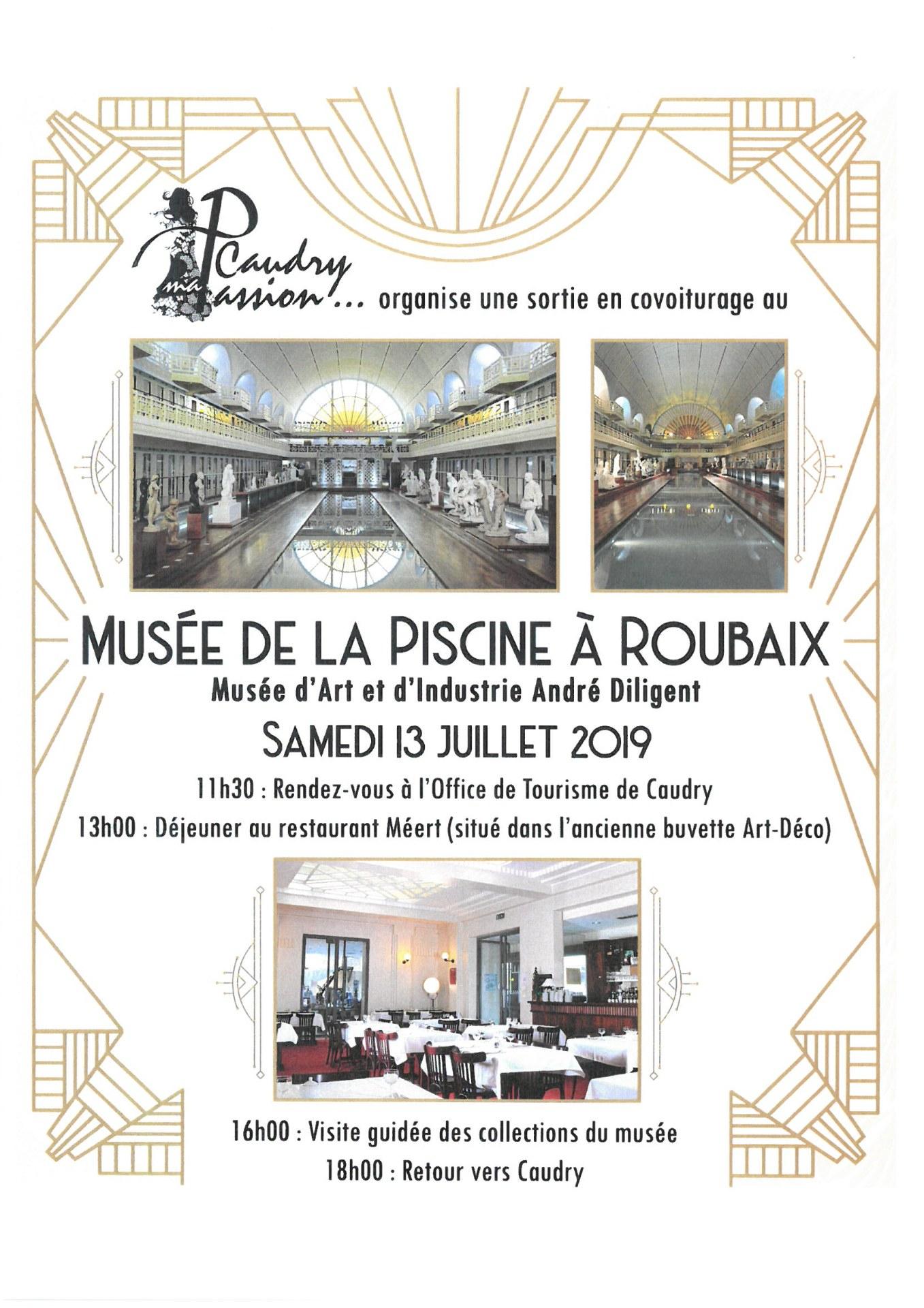 Musée De La Piscine Roubaix pour Piscine De Caudry