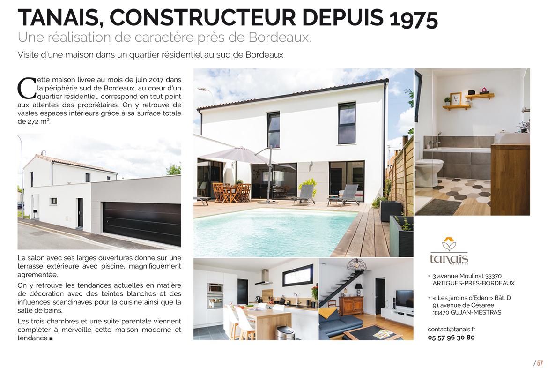 Mvam : « Tanais, Constructeur Depuis 1975 » - Maisons Ericlor pour Salon De La Piscine 2017